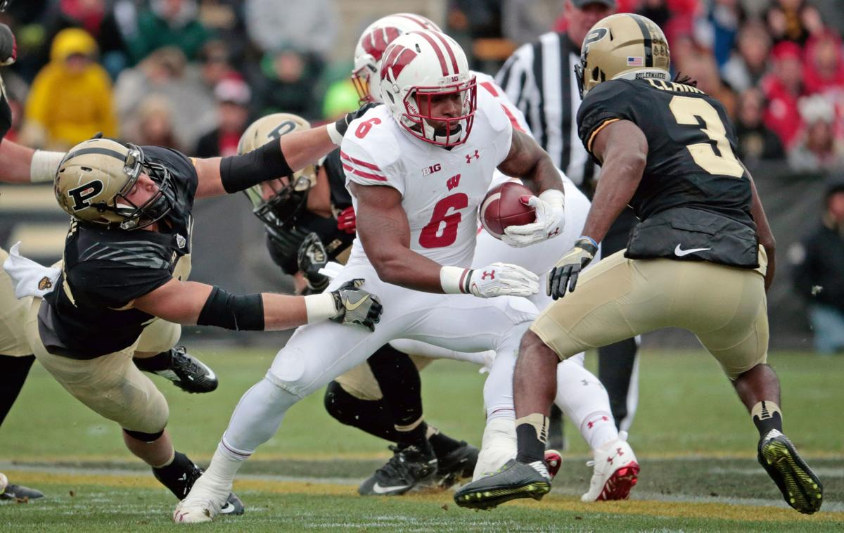 badgers football decision to return for senior year proved corey clement photo