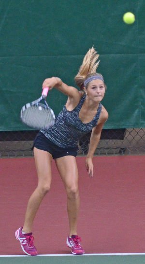 Prep girls tennis: Photos from final rounds of Badger Conference meet