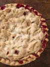 Norske Nook strawberry pie