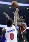 Bucks: Bench players play key role in win over Pistons