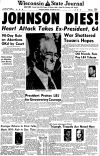 Pages from history Jan. 23, 1973
