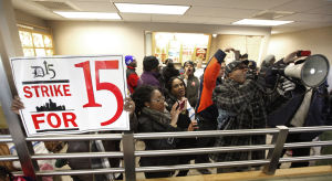 Photos: Fast food workers strike across US