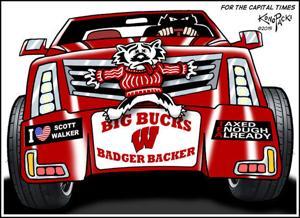 Plain Talk: The hypocrisy of big-bucks Badger boosters