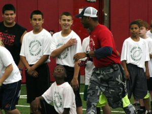 Photos: Russell Wilson brings his Passing Academy to Madison