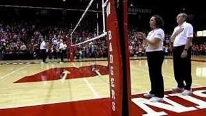 Wisconsin Volleyball Game Day