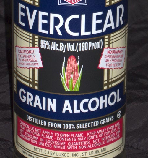 Banning Everclear Other High Proof Liquors Will Be A