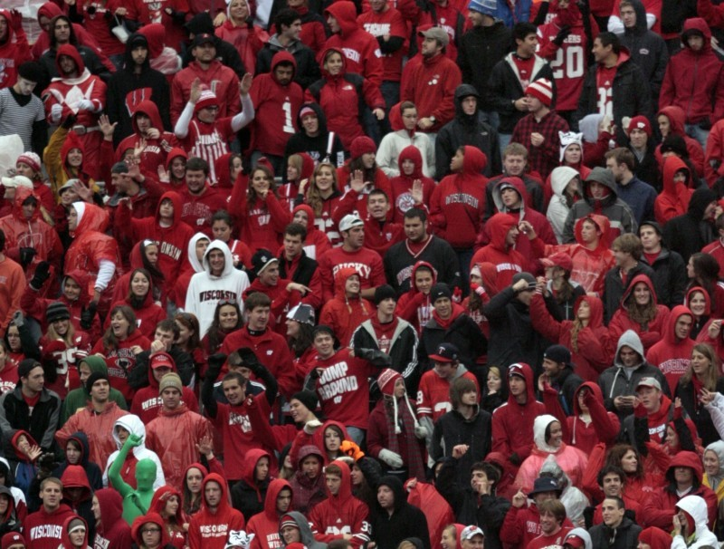 Camp Randall student section