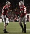 Scott Tolzien, James White, UW Northwestern Football