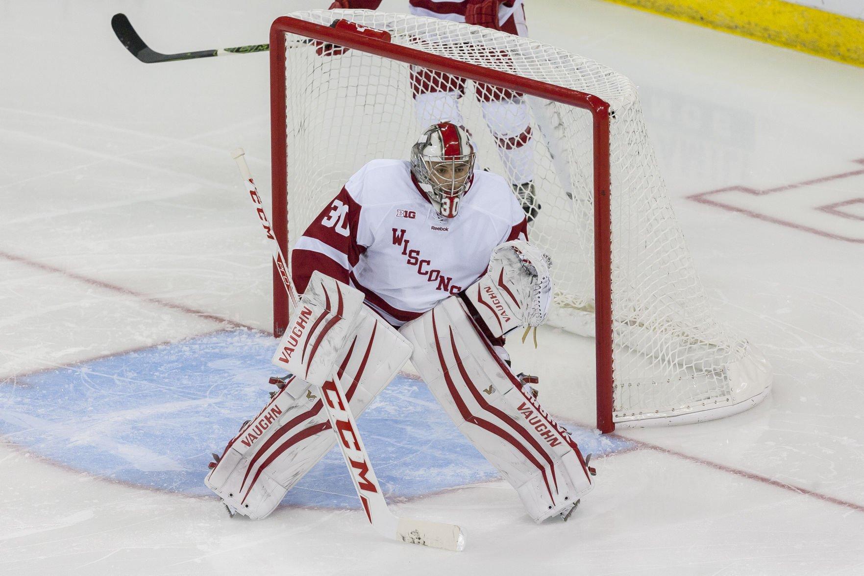 BIG10: Badgers - Goaltender Matt Jurusik Out 3-4 Weeks With Knee Injury