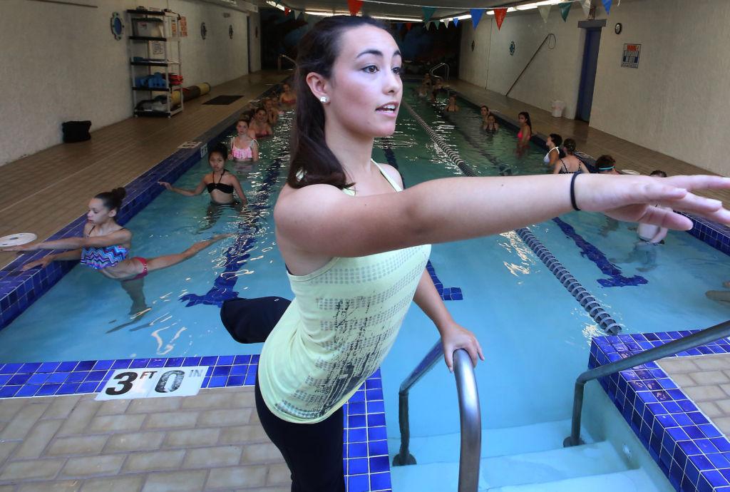 Water Ballet Class Teaches Dancers Grace Entertainment