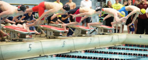 Photos: Memorial cruises to fifth straight WIAA Div. 1 state boys swim title