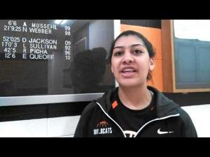 Video: Verona's Kira Opsal talks about her team's emotional victory over Janesville Parker