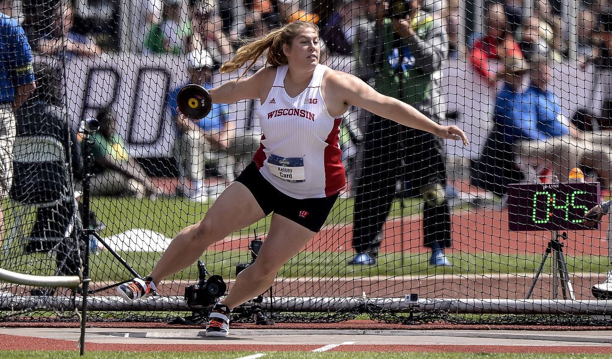 Kelsey Card discus