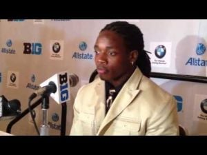 Video: Badgers RB Melvin Gordon talks about his inspirations in becoming a leader for UW