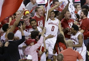 Photos: Aw, shucks ... Badgers fall to Cornhuskers