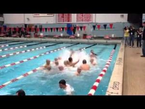 Video: A jump in the pool with the WIAA Div. 1 state champion Madison Memorial boys swim team