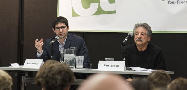 Soglin, Resnick spar in mayoral debate