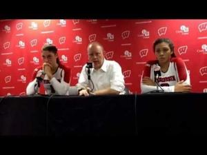 Video: Badgers coach Kelly Sheffield reacts to his team's loss to Western Kentucky