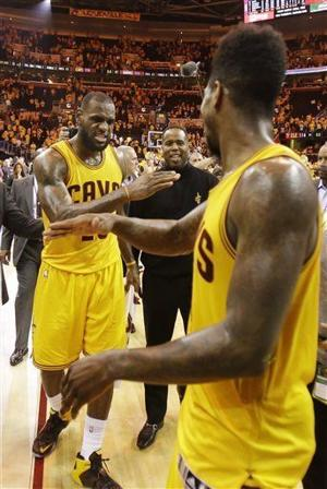 Video: LeBron James' 12th postseason triple-double leads Cavaliers to 3-0 series lead