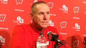 Video: Badgers coach Gary Andersen marvels at Melvin Gordon's work vs. Bowling Green