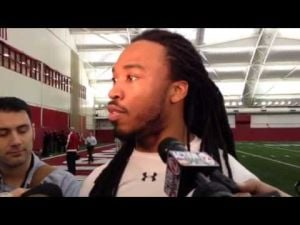 Video: A memorable Pro Day for ex-Badgers DB Dez Southward