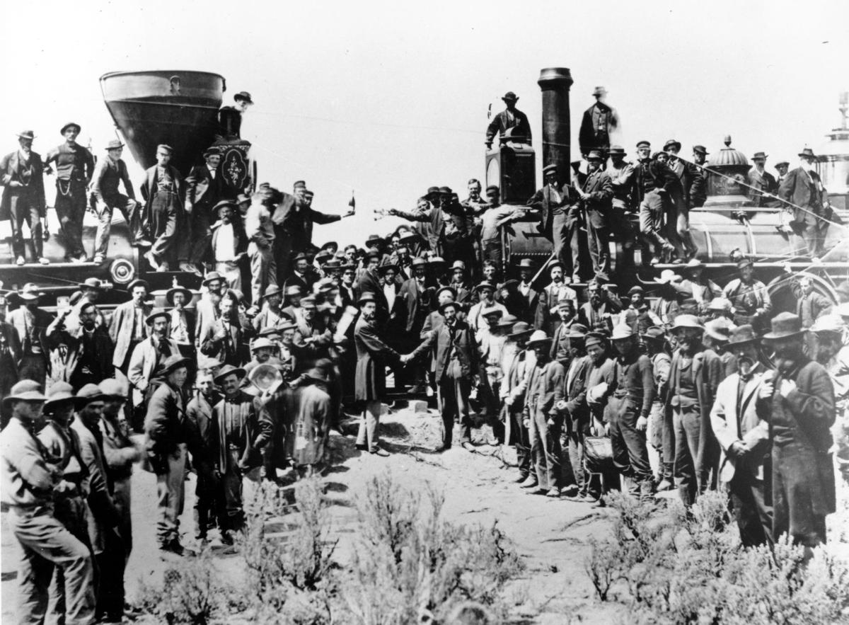 Today In History, May 10: Transcontinental Railroad ...