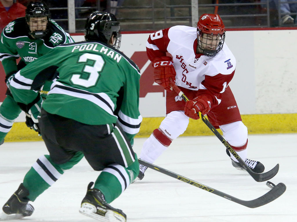 BIG10: Badgers Notes - Lacking Flow, UW Changes Its Top Three Forward Lines