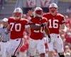 James White, Scott Tolzien, Kevin Zeitler, UW football vs. Minnesota