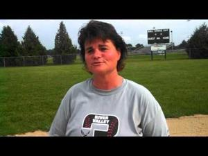 Video: River Valley softball coach Jane Briehl on beating Dodgeville
