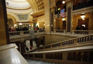 Photos: Wisconsin Senate passes right-to-work bill