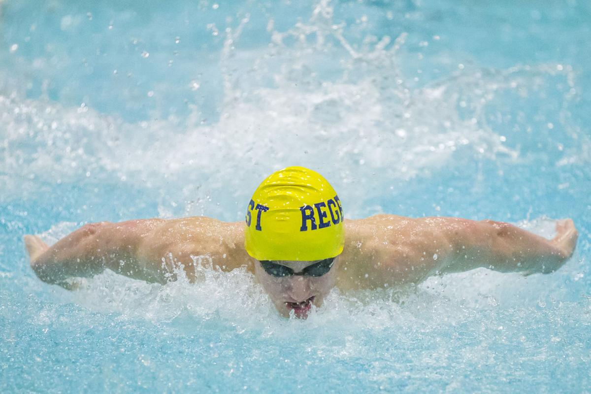 Prep Boys Swimming Madison West Third At Own Invitational