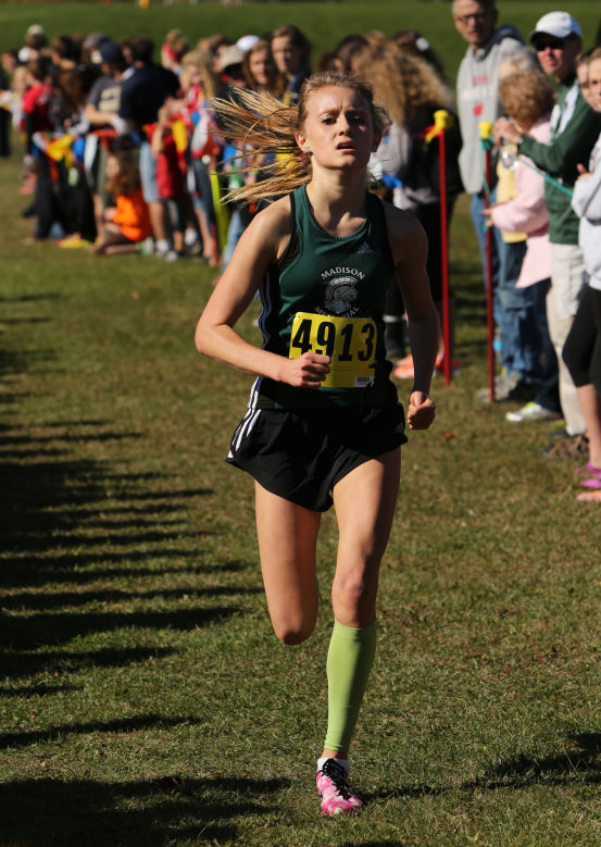 WIAA cross country: Delaney Eigenberger lifts Madison Memorial girls into state berth
