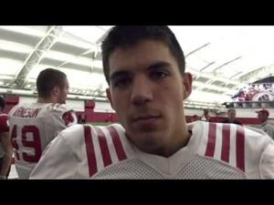BadgerBeat One-on-One: WR Alex Erickson describes crazy few weeks for UW football