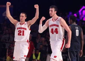 Photos: Badgers survive scare from Georgetown in Bahamas