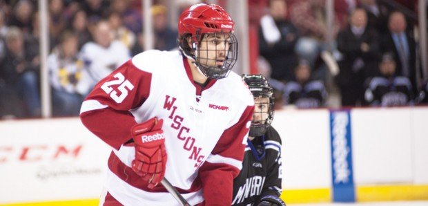WCHA: Michael Mersch Not Afraid Of Rough Stuff