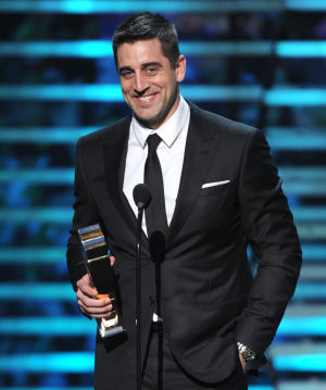 Video: Aaron Rodgers beats out J.J. Watt for NFL MVP