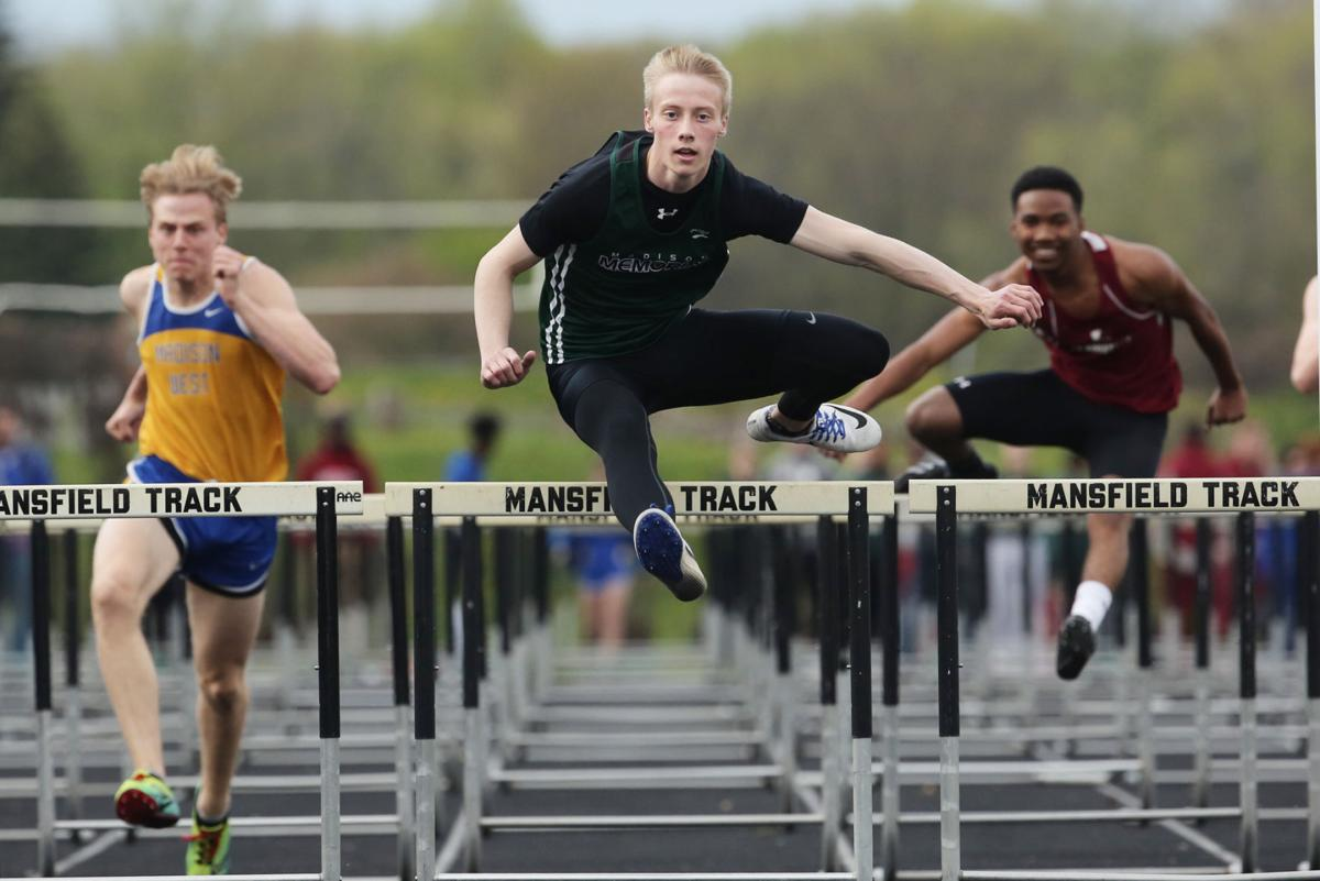 madison track meet results