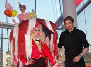 Photos: Imaginative coiffures at Hair Affair's 'Cirque des Cheveux'