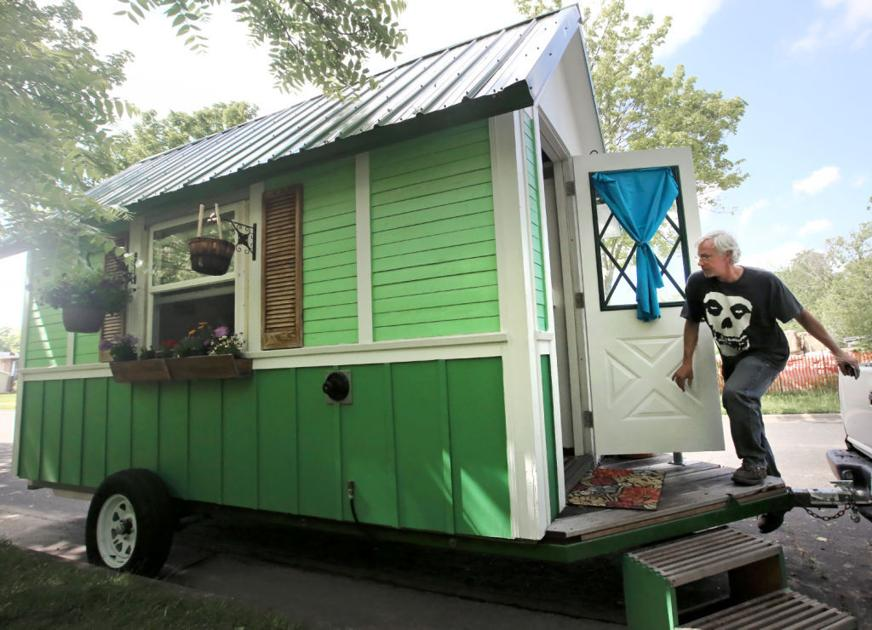 Home Sweet Tiny Home Couple logs six months in Madisons first