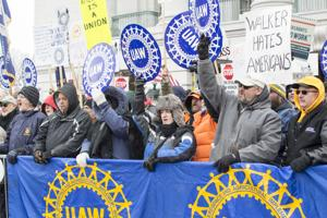 Feb. 25, 2015 Right to Work Protests
