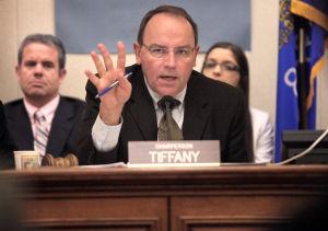 Is Sen. Tom Tiffany behind cuts to Wisconsin DNR science bureau?