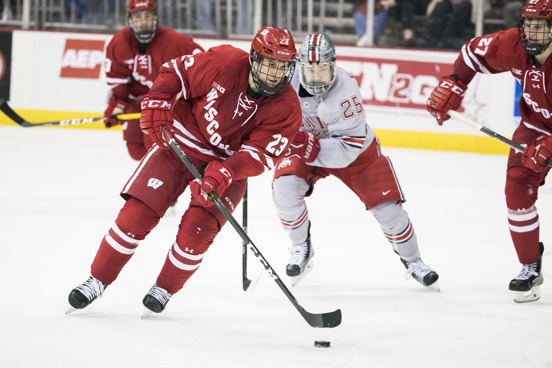 BIG10: Badgers - Aidan Cavallini Earns National Derek Hines Unsung Hero Award
