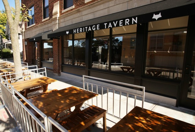 Heritage tavern takes farm to table to new level 77 square for Table 52 chicago closing