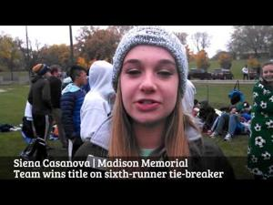 Video: Sun Prairie's Katie Hietpas, West's Olin Hacker rule Big Eight meet
