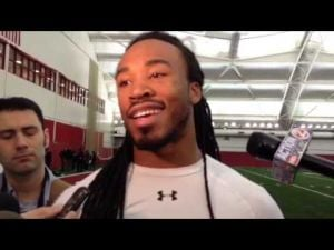 Ex-Badger Dez Southward talks about trying to impress NFL scouts on Pro Day