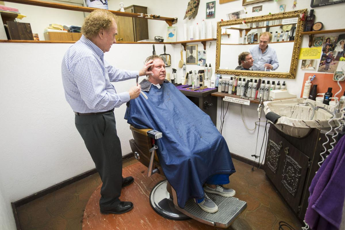 The barber in the basement: Longtime Madison barber George Patrinos ...