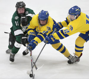 Photos: Madison West and Memorial hockey