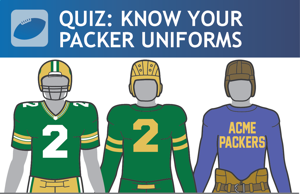 Quiz: Historic Packer uniforms