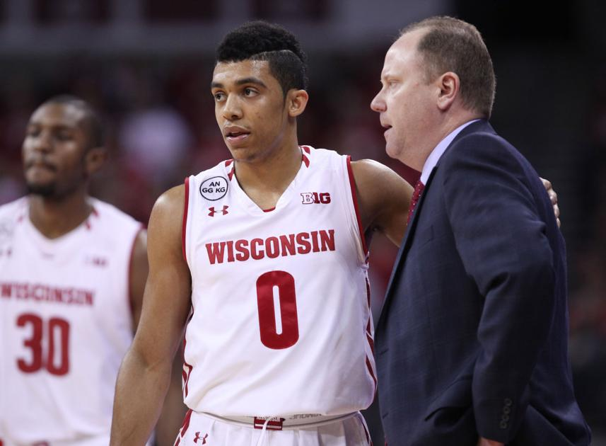 Badgers men's basketball: D'Mitrik Trice pays first visit as player to place where brother played