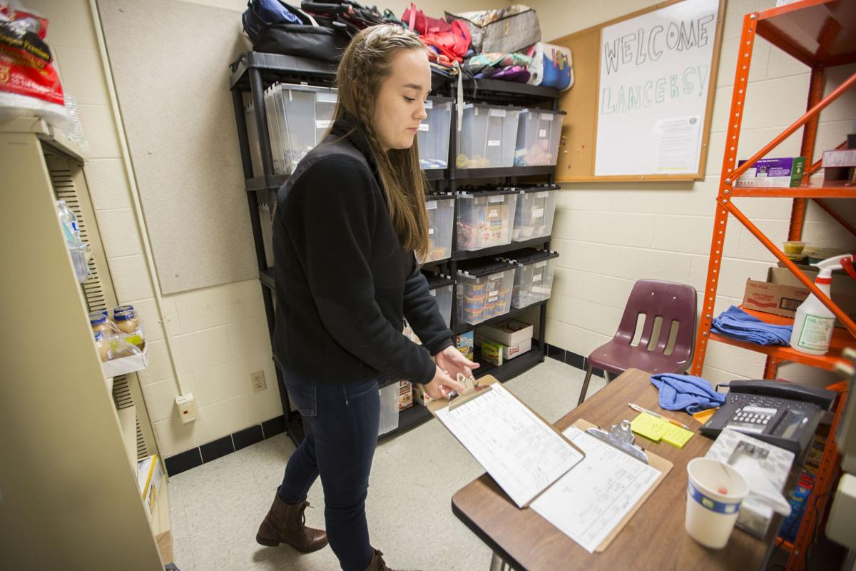 La follette high school39s key club gives back to its own for Madison food pantry ct